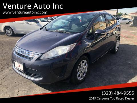 2013 Ford Fiesta for sale at Venture Auto Inc in South Gate CA