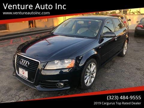2011 Audi A3 for sale at Venture Auto Inc in South Gate CA