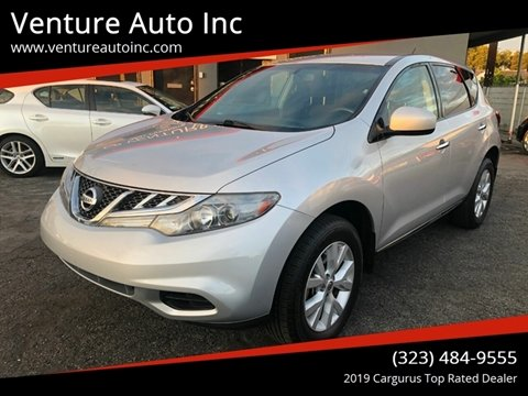 2012 Nissan Murano for sale at Venture Auto Inc in South Gate CA