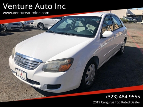 2009 Kia Spectra for sale at Venture Auto Inc in South Gate CA