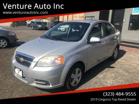 2010 Chevrolet Aveo for sale at Venture Auto Inc in South Gate CA