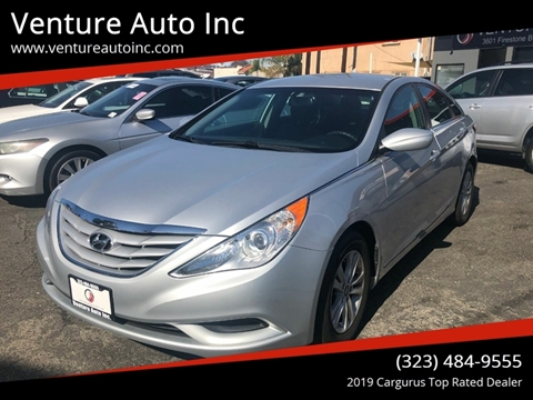 2013 Hyundai Sonata for sale at Venture Auto Inc in South Gate CA