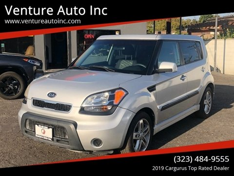 2011 Kia Soul for sale at Venture Auto Inc in South Gate CA