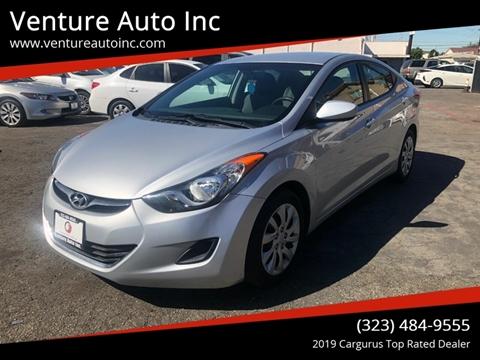 2013 Hyundai Elantra for sale at Venture Auto Inc in South Gate CA