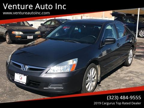 2007 Honda Accord for sale at Venture Auto Inc in South Gate CA