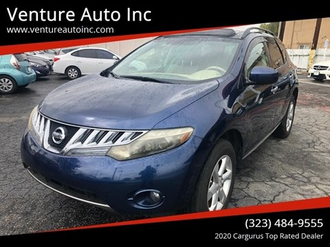 2009 Nissan Murano for sale at Venture Auto Inc in South Gate CA