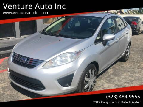 2011 Ford Fiesta for sale at Venture Auto Inc in South Gate CA