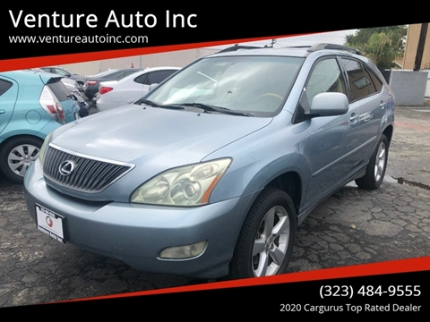 2004 Lexus RX 330 for sale at Venture Auto Inc in South Gate CA