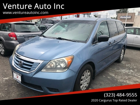 2010 Honda Odyssey for sale at Venture Auto Inc in South Gate CA