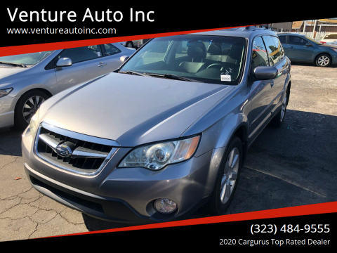 2008 Subaru Outback for sale at Venture Auto Inc in South Gate CA