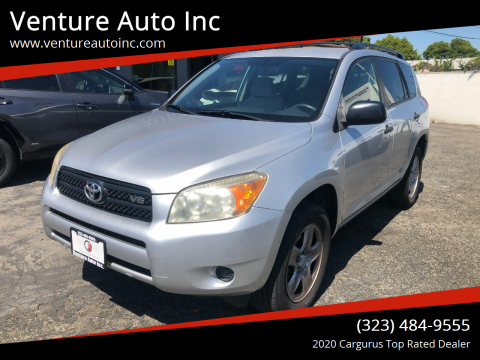 2007 Toyota RAV4 for sale at Venture Auto Inc in South Gate CA