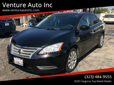 2014 Nissan Sentra for sale at Venture Auto Inc in South Gate CA
