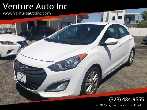 2013 Hyundai Elantra GT for sale at Venture Auto Inc in South Gate CA