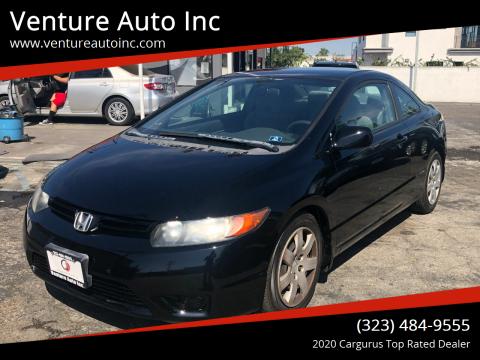 2008 Honda Civic for sale at Venture Auto Inc in South Gate CA