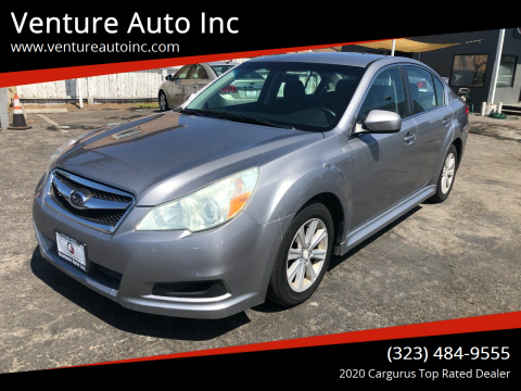 2010 Subaru Legacy for sale at Venture Auto Inc in South Gate CA