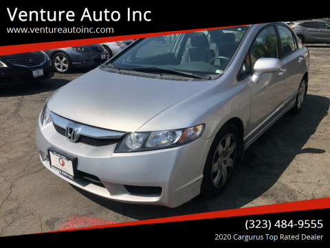 2010 Honda Civic for sale at Venture Auto Inc in South Gate CA