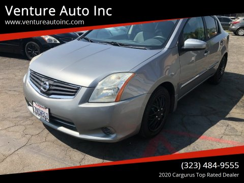 2012 Nissan Sentra for sale at Venture Auto Inc in South Gate CA