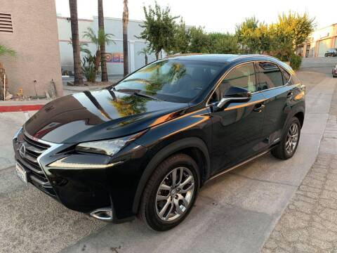 2015 Lexus NX 300h for sale at Venture Auto Inc in South Gate CA
