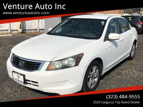 2010 Honda Accord for sale at Venture Auto Inc in South Gate CA