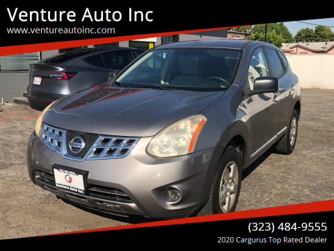 2013 Nissan Rogue for sale at Venture Auto Inc in South Gate CA