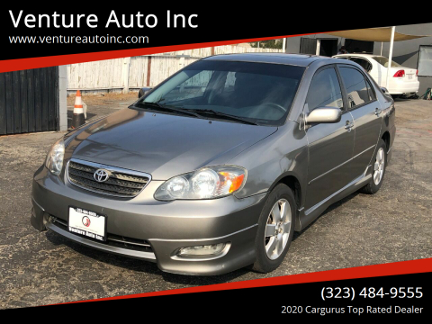 2008 Toyota Corolla for sale at Venture Auto Inc in South Gate CA