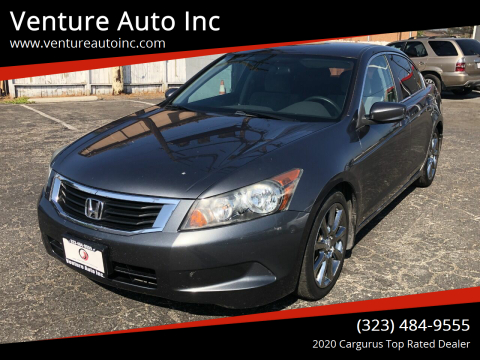 2010 Honda Accord for sale at Venture Auto Inc in South Gate CA