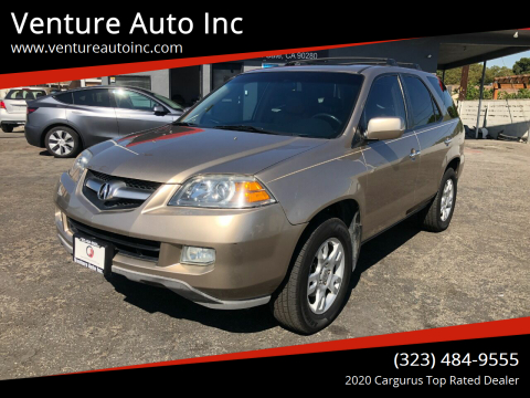 2006 Acura MDX for sale at Venture Auto Inc in South Gate CA