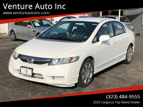 2009 Honda Civic for sale at Venture Auto Inc in South Gate CA