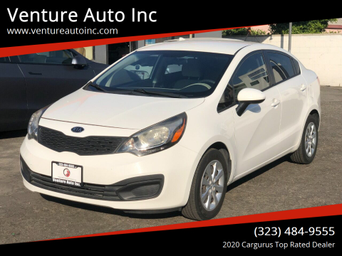 2013 Kia Rio for sale at Venture Auto Inc in South Gate CA