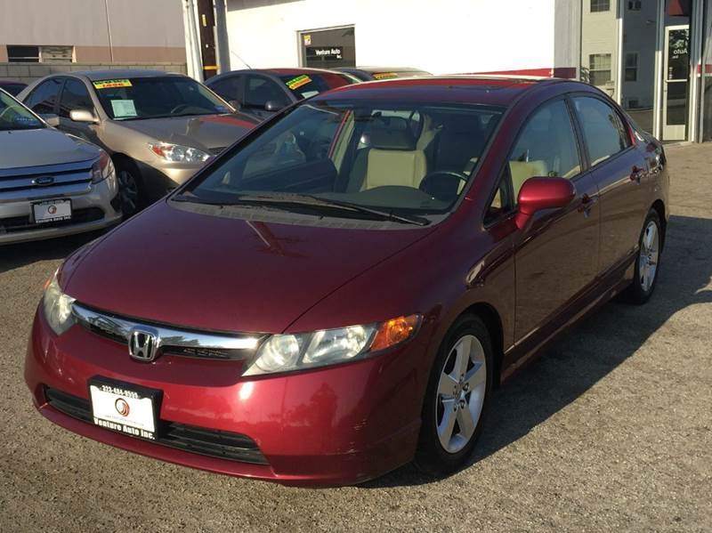 2008 honda civic ex l w navi 4dr sedan 5a w navi in cudahy. Black Bedroom Furniture Sets. Home Design Ideas