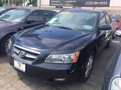 2008 Hyundai Sonata for sale at Venture Auto Inc in South Gate CA