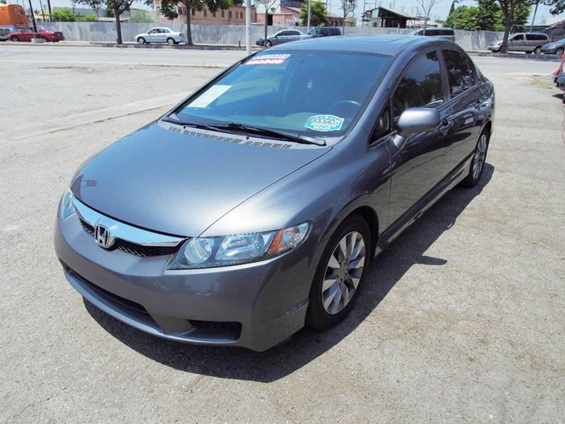 2009 honda civic ex l 4dr sedan 5a in cudahy ca venture auto inc. Black Bedroom Furniture Sets. Home Design Ideas