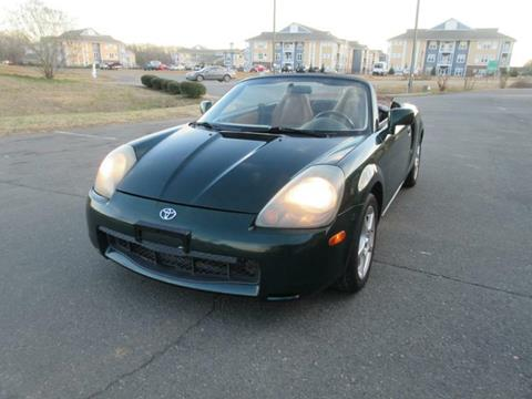 2001 Toyota MR2 Spyder for sale in Fort Mill, SC