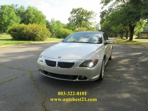 2004 BMW 6 Series for sale in Fort Mill, SC
