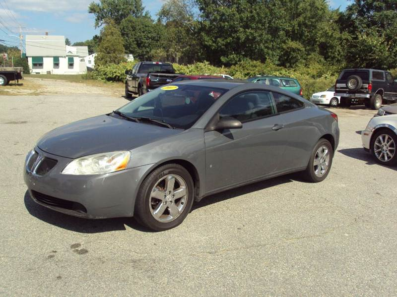 2007 Pontiac G6 Gt 2dr Coupe In Warwick Ri Allendale Auto Sales
