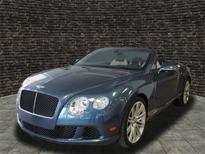 2014 Bentley Continental AWD GT Speed 2dr Convertible - Montclair NJ