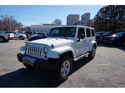2013 Jeep Wrangler Unlimited for sale at Montclair Motor Car in Montclair NJ