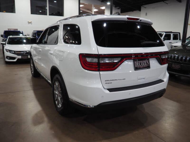 2017 Dodge Durango AWD SXT 4dr SUV - Montclair NJ