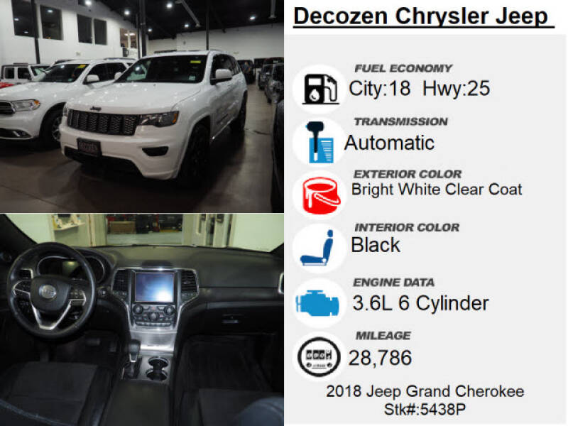 2018 Jeep Grand Cherokee 4x4 Altitude 4dr SUV - Montclair NJ