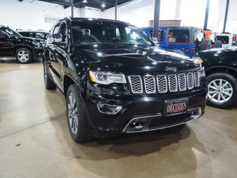 2017 Jeep Grand Cherokee 4x4 Overland 4dr SUV - Montclair NJ