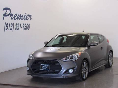2013 Hyundai Veloster Turbo for sale at Premier Automotive Group in Milford OH