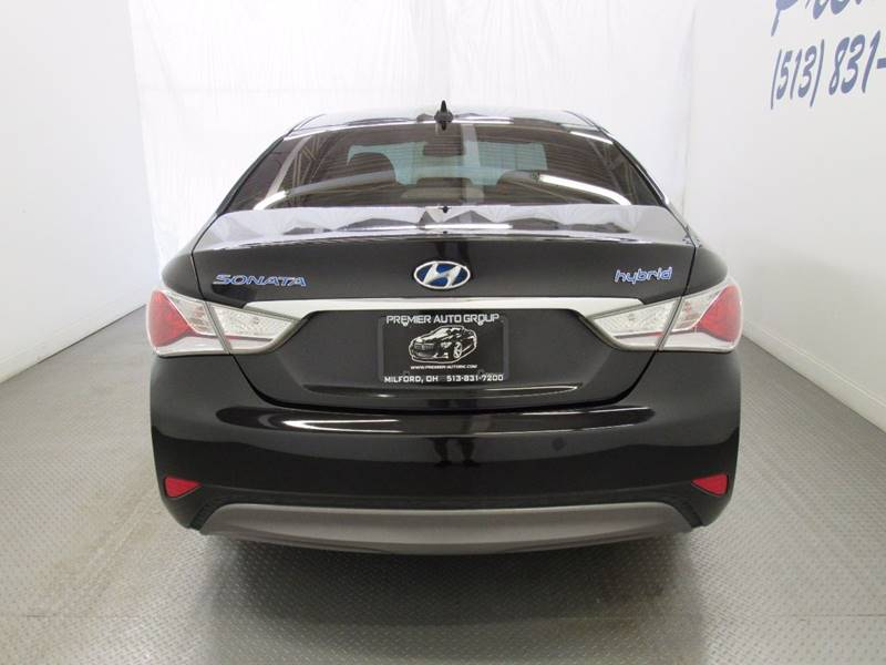 2012 Hyundai Sonata Hybrid for sale at Premier Automotive Group in Milford OH