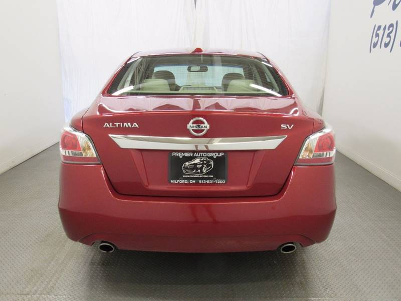 2015 Nissan Altima for sale at Premier Automotive Group in Milford OH