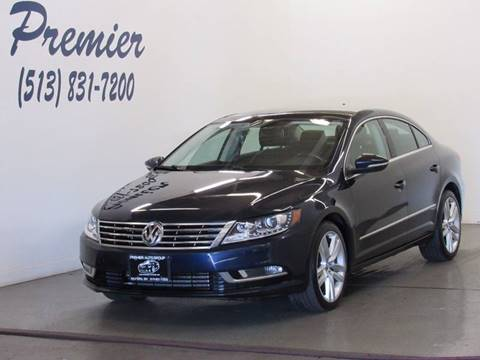 2013 Volkswagen CC for sale at Premier Automotive Group in Milford OH