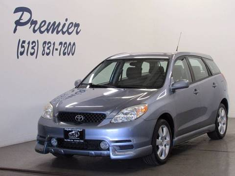 2003 Toyota Matrix for sale at Premier Automotive Group in Milford OH