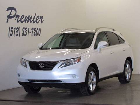 2010 Lexus RX 350 for sale at Premier Automotive Group in Milford OH