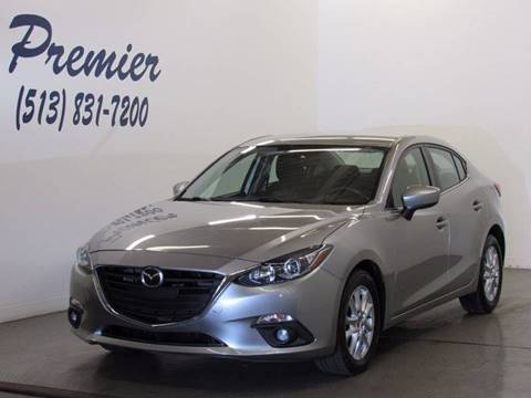 2015 Mazda MAZDA3 for sale at Premier Automotive Group in Milford OH