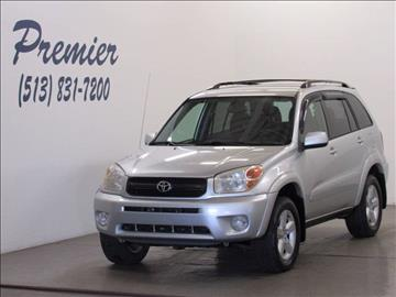 2005 Toyota RAV4 for sale at Premier Automotive Group in Milford OH