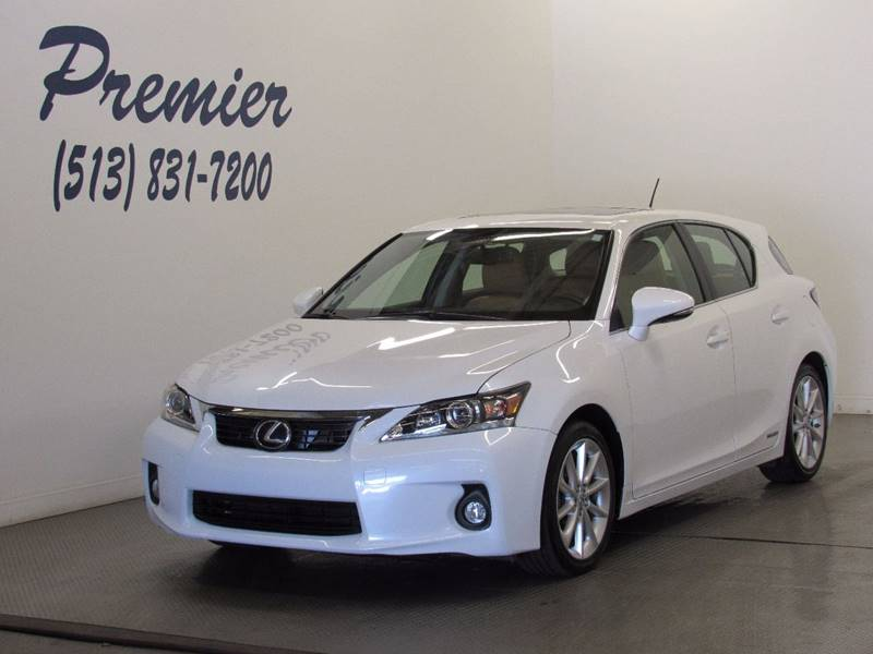 2012 Lexus CT 200h for sale at Premier Automotive Group in Milford OH