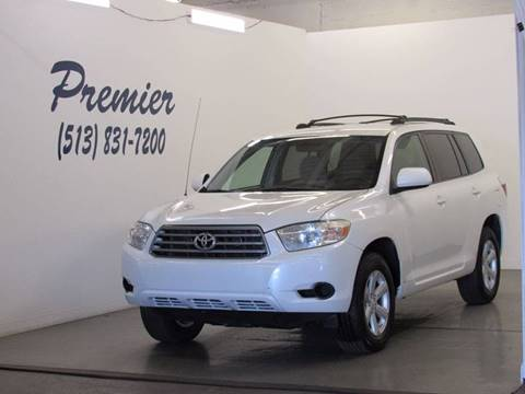 2008 Toyota Highlander for sale at Premier Automotive Group in Milford OH